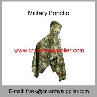 Buy cheap Wholesale Cheap China Military Camouflage Oxford Nylon Polyester Army Poncho from wholesalers
