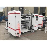 Buy cheap Self Adhesive Label Paper Roll Rewinding Machine , Slitter Rewinder Machine Centralized Control from wholesalers