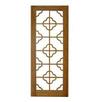 Buy cheap Customized sizes are both available modern Bamboo glass panel interior doors  from wholesalers