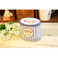 Buy cheap Oval Small Gift Packaging Tin Box / Storage Containers Promotions With 3d Embossing from wholesalers
