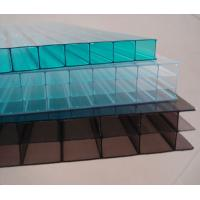 Buy cheap awning skylight system Grade A lexan twin wall polycarbonate sheets with competitive price from wholesalers