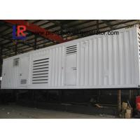 Buy cheap CE Approved Water Cooled Container Genset with Brushless AC Three / Single Phase from wholesalers