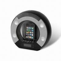 Buy cheap Docking Speaker for Apple's iPod/iPhone with Clock, Alarm and FM Radio from wholesalers
