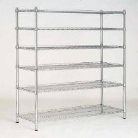 Buy cheap 6 Tier Adjustable Industrial Wire Sheling Office Wire Racking Industrial Storage Solutions from wholesalers