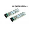 CWDM-SFP-1530 Cisco 1.25Gbps CWDM SFP Module 1530nm 80km optical transceiver for sale