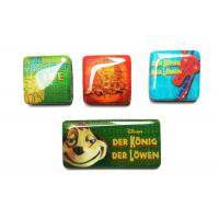 Buy cheap Customized 3D colorful epoxy resin fridge magnet travel souvenir from wholesalers