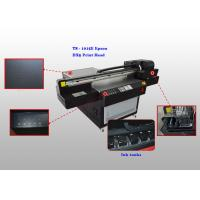 Buy cheap Four Color Flatbed UV Leather Printer , Automatic Leather Printing Machine from Wholesalers