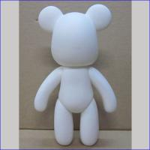 Buy cheap 18cm RUBBER diy Momo Bears Diy Art Platform Toys  PLASTIC Cartoon action Figure from wholesalers