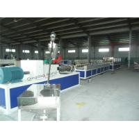 Buy cheap Fully Automatic Plastic Profile Extrusion Line Double Screw CE ISO9001 Approved from wholesalers
