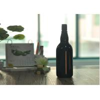 Buy cheap Blown Cutting Glass Wine Bottles 1 Liter Glass Liquor Bottles Customized from wholesalers