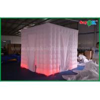 Buy cheap 2.5m X 2.5m X 2.5m Two Doors Inflatable Photo booth Props Portable Photo Booth Tent from wholesalers