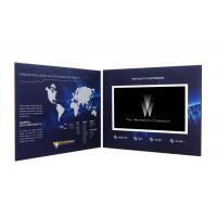 Buy cheap 5TFT screen video mailer , video brochure card with Rechargeable Battery from wholesalers