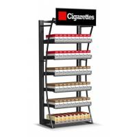 Buy cheap Retail Cigarette Display Stand , Smoke Shop Wall Hanging Display Case from wholesalers