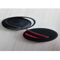 Buy cheap Heat Resistance Fireproof Needle Punched Felt Black Adhesive Strip Flat from wholesalers