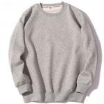 Buy cheap Autumn Mens Crew Neck Sweatshirts , Oversized Round Neck Sweater Regular Sleeve from wholesalers