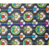 Buy cheap 40S 100GSM Cotton Poplin Fabric Flower Printed Cotton Fabric from wholesalers