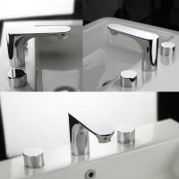 Buy cheap Ballet Double Handles Basin Mixer Tap Basin Faucet from wholesalers