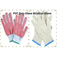 Buy cheap Working Gloves  Cotton Knitted Gloves  PVC Dots Cotton  Gloves from wholesalers