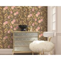 Buy cheap Strippable Home Decoration Wallcovering PVC Wallpaper Wholesale Price Beautiful Flower from wholesalers