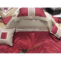 Buy cheap Embroidered wedding bed linens from wholesalers