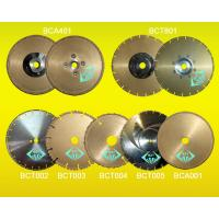 Buy cheap Brazed Diamond Cutting Blade from wholesalers