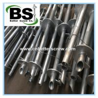 Buy cheap high performance steel helical screw pile for building foundation from wholesalers