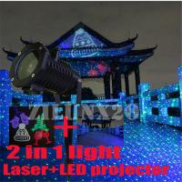 Outdoor Christmas Light Projector Moving Laser Garden Waterproof Wall Night Xmas Yard