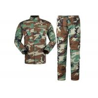 Buy cheap Multi Camo Woodland Military Combat Uniform,Design Your Own Military Uniform from wholesalers
