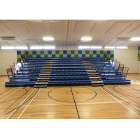 Wireless Operated Retractable Grandstands Seating For Multisport Rooms