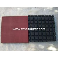 Buy cheap rubber floor/safety playground rubber floor from wholesalers