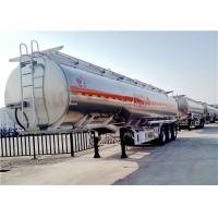 Buy cheap Aluminum Alloy Fuel Tanker Truck Trailer  3 Axle 42000L 42cbm Oil Transport Tank Trailer from wholesalers