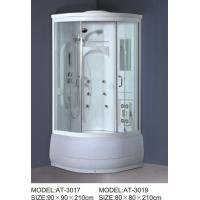 Buy cheap ABS shower stall 800mm Quadrant Shower Enclosures with tray and waste 230V Voltage from wholesalers