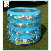 Buy cheap Personalized Inflatable Swimming Pools With Honeybee Printing For Promotion from wholesalers