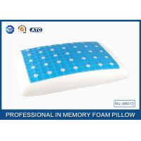 Buy cheap Reversible Ventilated Cooling Gel Memory Foam Pillow With Air Holes 60X40CM Size from Wholesalers