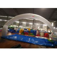 Buy cheap 210D Nylon 10*5m White unsealed Inflatable Arch For Event or Advertising from Wholesalers
