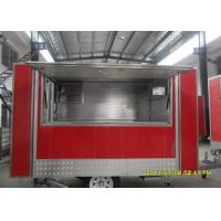 Buy cheap American Style French Fries Cart , Food Cart Trailer  With Single Axle from wholesalers