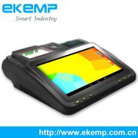 Buy cheap EKEMP 7' Lottery POS Vending System ,Android Tablet POS with Fingerprint,1D/2D Barcode Scanner ,Card Reader,Printer from wholesalers