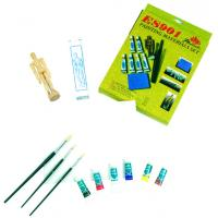 Buy cheap Fine Art Painting Set Art Kits For Teenager Manikin Canvas Panel Included from wholesalers