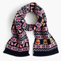 Buy cheap Wool / Nylon / Viscose Knitted Hat Scarf Gloves With Fair Isle Jacquard Pattern from wholesalers