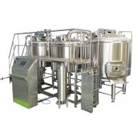 Buy cheap 1000L Professional Brewing Equipment 316 Stainless Steel With Three Boiling Kettles from wholesalers
