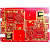 Buy cheap 8 Layers HDI Third Order Pcb Rapid Prototyping Prototype Half - Hole Metal Edging Gold Finger from wholesalers