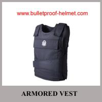 Buy cheap Wholesale Cheap China NIJ Navy Blue Aramid UD UHMWPE Bulletproof Armored Vest from wholesalers