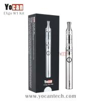 Buy cheap No unhealthy wicks or coils wax vaporizer exgo Yocan EXgo W1 hottest upgraded ego wax atomizer from wholesalers