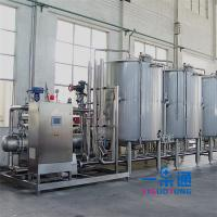 Buy cheap Stainless Steel Cleaning In Place In Food Industry CE Certification , Water Cleaning Equipment product