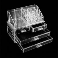 Buy cheap Acrylic Jewelry Makeup Cosmetic Organizer Case Box Storage Display Holder Drawer from wholesalers