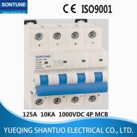 Buy cheap STD11-125 IEC60947.2 VDC 125A Current MCB Circuit Breaker High Breaking Capacity from wholesalers