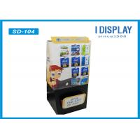 Buy cheap Recyclable Cardboard Hook Display Stands Stable Printed For Computer Accessories from wholesalers