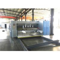 Buy cheap Corrugated Box Flexo Printer Slotter Machine Touch Screen Adjustment from wholesalers