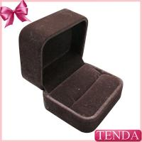 Buy cheap Personalized Double Three Rings Engagement Jewelry Jewellery Ring Boxes Cases for Sale from wholesalers