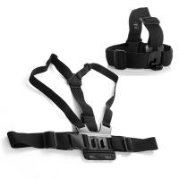 Buy cheap Chest Strap Mount Harness for Gopro Hero 4 3+ 3 2 1 Cameras Accessories with Gopro Head Strap from wholesalers